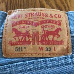 Levi's Shorts - Levi Strauss & Co 511 Slim Cut Off Shorts